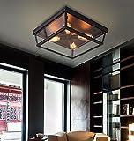 Mode Deckenbeleuchtung-WXP Industrial Wind Wohnzimmer Decke, Europäische Stil Retro Decke, American Bedroom Deckenleuchte Innenraum Lampen-WXP ( Farbe : Trumpet 2 )
