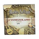 Ortola 6918--099 - Juego cuerdas cuatro venez nylon 1270 medina art, color estándar