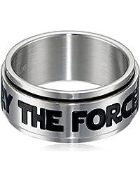 Star Wars Men's Stainless Steel Spinner Ring