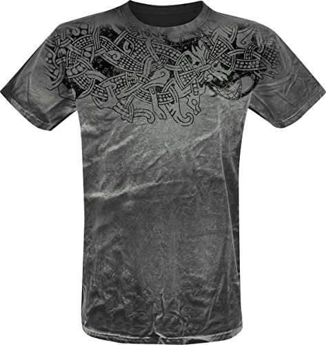 Outer Vision Thunderstorm T-Shirt grigio M