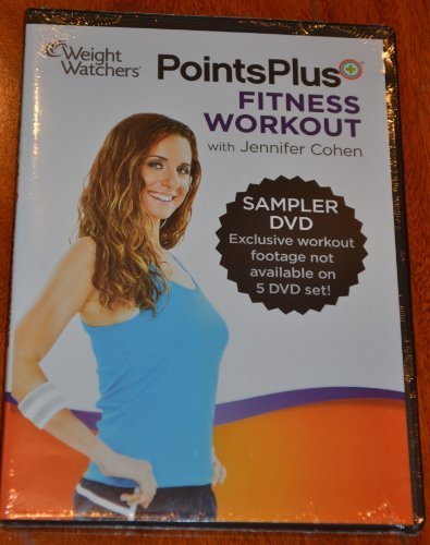 Weight Watchers 2013 360 Program Points Plus SAMPLER FITNESS WORKOUT Video DVD Brand New Sealed by Weight Watchers