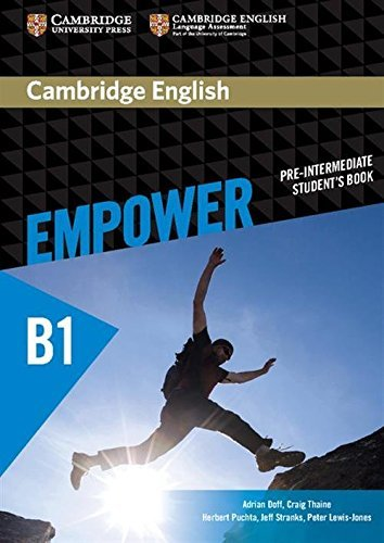 Cambridge English Empower Pre-intermediate Student's Book by Adrian Doff (2015-06-29)