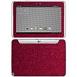 atFolix Samsung Galaxy Note 10.1 (2012 Edition) Skin FX-Glitter-Ruby-Red Designfolie Sticker