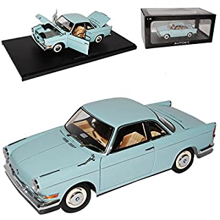 AUTOart BMW 700 Sport Coupe Ceramic Blau 1959-1965 70653 1/18 Modell Auto