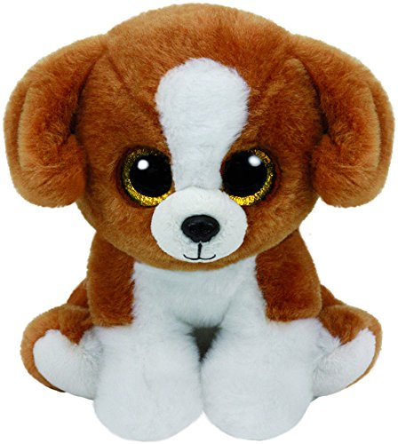 ty-beanie-babies-snicky-perro-23-cm-color-blanco-marrn-united-labels-ibrica-90243ty