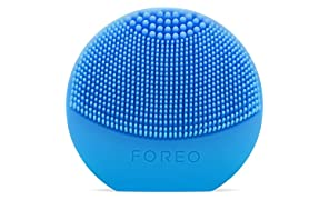 FOREO LUNA play Facial Cleanser Brush Aquamarine Ultra-Portable and Fully Waterproof Sonic Cleansing Device