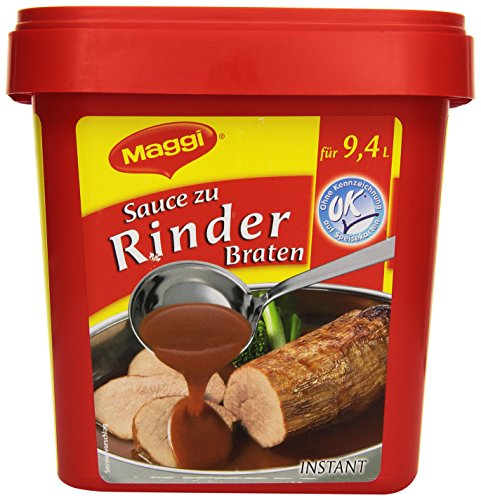 Sauce zum Rinderbraten Instant, 1er Pack (1 x 900 g)Maggi