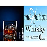 MA POTION - E-Liquide Saveur Whisky, Eliquide Français Ma Potion, recharge liquide pour cigarette électronique. Sans nicotine ni tabac