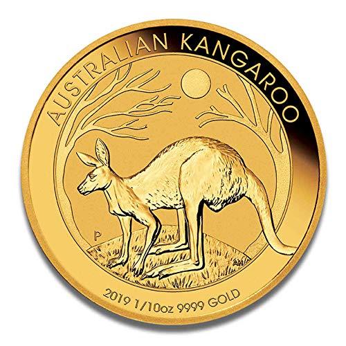 Goldmünze Australien Känguru - 999.9 Feingold - Perth Mint (1/10oz 2019) - Gold Münze