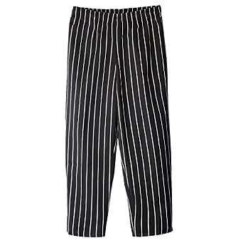 Sharplace Uomo Pantaloni da chef Cuoco Ristorazione Uniformi da Lavoro Ristorante Più Dimensioni - #4, 2XL