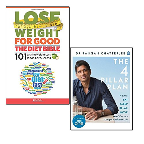 4 Pillar Plan And Lose Weight For Good 2 Books Collection Set How