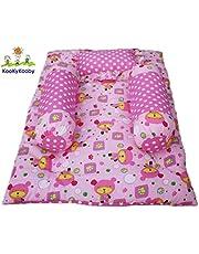KooKyKooby 4pc Bedding Set Pink 03 Months