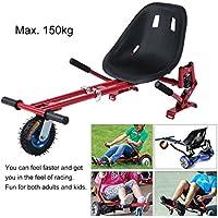 kinshops resistente al asiento Scooter hoverk tipo para roller Self Balance Scooter S de scooter (6,5/8.0/10 70 – 100 cm), regulable Asiento Kart Hover ...