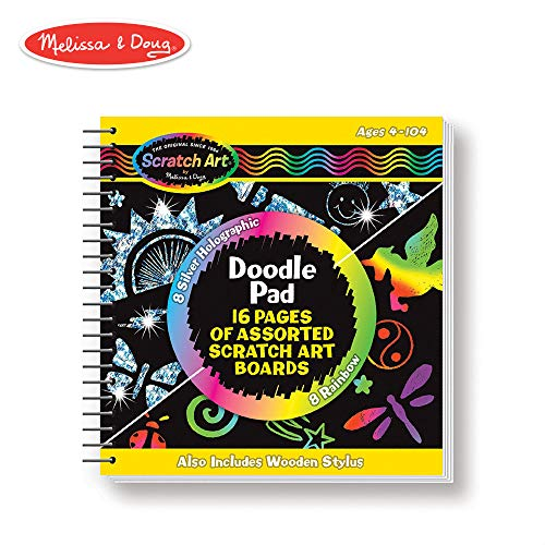 Melissa & Doug Scratch Art Doodle -