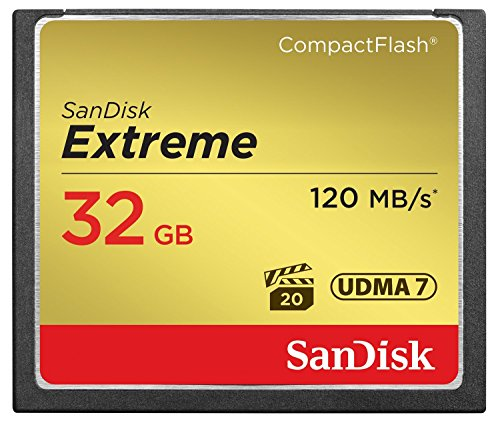 SanDisk SDCFXSB-032G-FFP - Tarjeta Memoria Compact