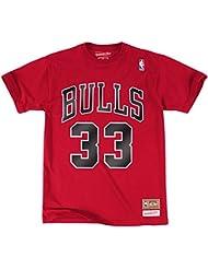 Scottie Pippen Chicago Bulls Mitchell & Ness NBA Throwback Player Men's T-Shirt Chemise
