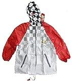Michael Schumacher Collection Formel 1 Kinder Regenjacke Regenmantel Regencape Regenponcho mit Kapuze Größe: 140