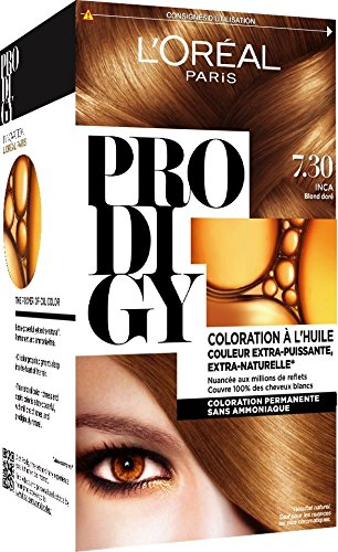 loral paris prodigy coloration permanente lhuile sans ammoniaque 60 blond fonc amazonfr hygine et soins du corps - Coloration Permanente Sans Ammoniaque