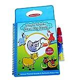 Magic Kids Wasser Aqua wiederverwendbare Zeichnung Buch mit , 1 Zauberstift, intime Coloring Book Malerei Wasserbehörde, frühkindliche pädagogische Spielwaren (Tierbuch)