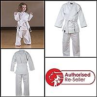 Kids Lightweight Karate GI White Karate Suit Blitz Sport
