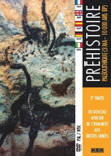 Preisvergleich Produktbild DVD - Préhistoire,  2ème partie : Paléolithique (3MA - 10000 ANS BP)