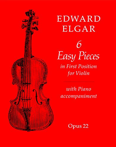 6 Easy Pieces for Violin and Piano (Faber Edition)