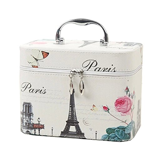 Creative Box Cosmetic Makeup Box grande capacité Maquillage Sacs, Paris