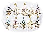 10 x kleiner Traumfänger 6 cm. Ring Dreamcatcher Kinder Geschenk verschiedene Farben 002