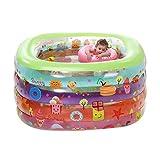 TIDLT Badewanne Aufblasbares Babybecken PVC-Material Haushalt Erwachsene Badefass Für Kinder (Farbe : A, größe : L)