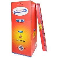 Preisvergleich für Räucherstäbchen 250g Satya Hari Om 25 Schachteln zu je 10g Nag Champa Dufsorte Wohnaccessoire Raumduft