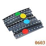 yourDroid Sortiment SMD LEDs 5 Farben à 10 Stück