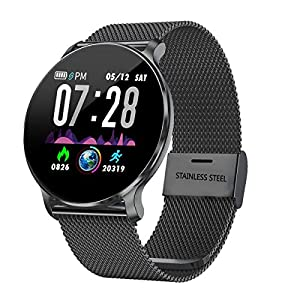 TagoBee TB11 Smartwatch Bluetooth IP68 Pulsera Inteligente Impermeable Reloj Movil HD Touch Screen Fitness Tracker Compatible con Android y iOS para Hombres Mujeres 2