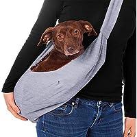MOOUK - Bolsa de Transporte Reversible para Cachorro, Gato, Perro o Gato, para Viaje, de Seguridad, portátil, para Cachorro, Gatito, Conejo, de 3 a 10 Libras