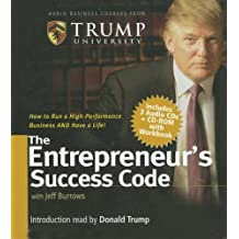 The Entrepreneur's Success Code [With Workbook] (Audio Business Course)