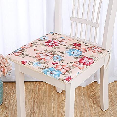 CLG-FLY Restaurantes cojines cojín asiento acolchado Classmate PC silla de mimbre cojines Oficina sofá acolchado espeso banco de memoria