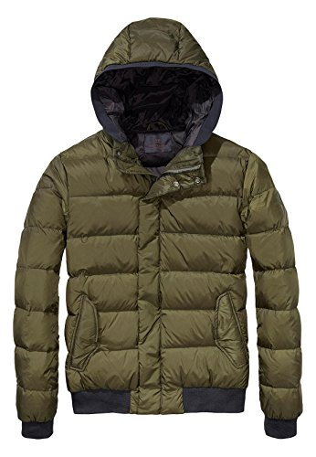 Scotch & Soda Steppjacke Men 139197 Army 0115, Größe:XXL (Trim-snap Farbe)
