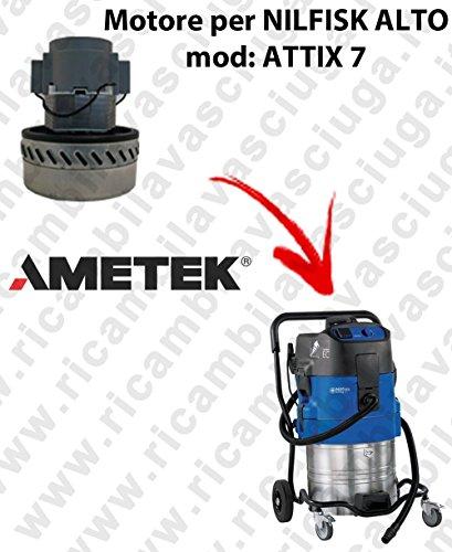 ATTIX 7Saug Motor Ametek für Staubsauger Nilfisk Alto