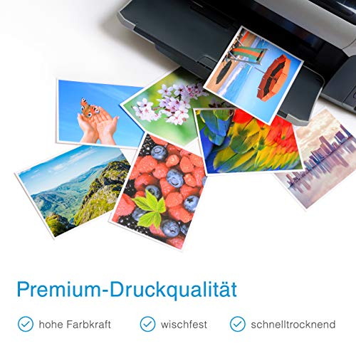 PlatinumSeries 4x Print Cartridge XXL compatible para Brother LC3219 MFC-J6935DW MFC-J5730DW MFC-J6930DW MFC-J5330DW MFC-J5335DW MFC-J5330DW MFC-J6530DW MFC-J5930DW