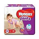 #9: Huggies Wonder Pants Medium Size Diapers( 56 Count)