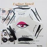 SAMGU Make-up Schönheit Katze Eyeliner Smokey Eye Schablone Modelle Vorlage Shaper Tool