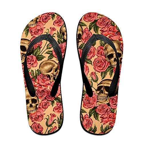 Beach Palm Trees Sunset Flip Flops Unisex Design Beach Flip Flop Sandals for Men and Women Large Flip-open Cell