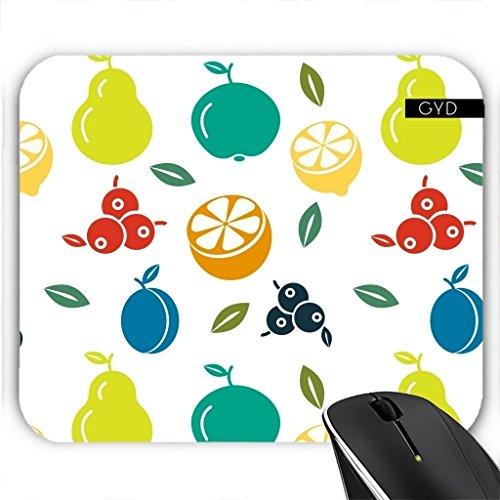 Preisvergleich Produktbild Mousepad - Fruchtmuster by WonderfulDreamPicture