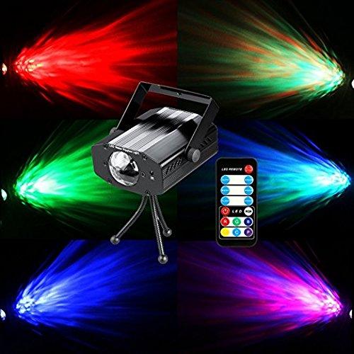COIDEA Disco Lights Disco Balls Stage Lights Rotating Strobe Light - Bedroom disco lights