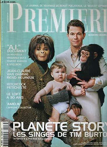 PREMIERE N° 293 - PLANETE STORY, LES SINGES DE TIM BURTON, INTERVIEW ET PHOTOS EXCLUSIVES