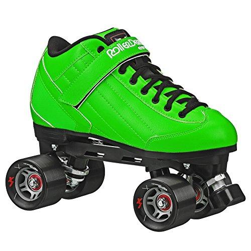 Erwachsene Roller Derby Elite Stomp 5SPEED Skates, grün