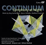 Continuum: Symphony At Night (Obras De Marco Schadler, M. Frommelt Y J. Hanselmann) / Klavierduo,...