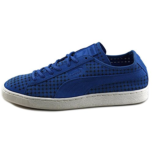 51fB76mw dL. SS500  - Puma Suede Courtside Court Sneakers Shoes Perforated