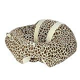hkfv Creative diseño suave enfermería almohada forma de U Cuddle cojín de silla de comedor asiento para bebé seguro Nuevo Mejor para bebé amarillo amarillo Talla:43*20cm