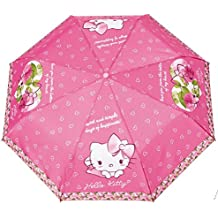 Perletti 3628729031 - paraguas antiviento plegable hello kitty 50cm