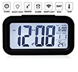 Best Digital Alarm Clock - The Aura Nightlights Temperature Battery Operated Optically Controlled Review